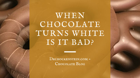 When chocolate turns white is it bad?