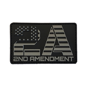 SECOND AMENDMENT PATCH BLACKOUT PATCH