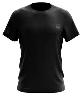 STATE PATRIOT PREMIUM - NO LINE SHORT SLEEVE BLACK