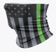 GREEN LINE STATE PATRIOT BUFFS | MOISTURE WICKING STRETCHY GAITER *SPF 20*