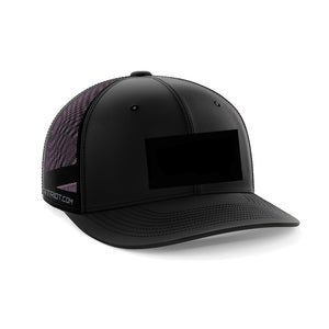 PATCH READY HAT - FLEX FIT BLACK