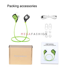 Sport Earphones Stereo Sweatproof  Connect 2 smartphones at the same time Noise redution