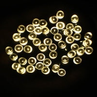 100 Warm White LED Solar String Light
