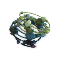 Funky Spiral Bracelet Water - Imani Workshop (J)