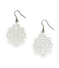 Viti Earrings – Silvertone