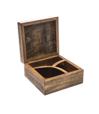 Aranyani Mango Wood Compartment Box - Matr Boomie (B)