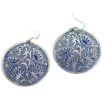 Padma Earrings – Blue