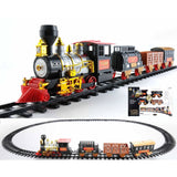20-Piece Battery Operated Lighted And Animated Classics Train Set Oversized