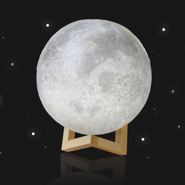 3d moon rechargeable table lamp with base jt home away 3d moon rechargeable table lamp with base jt home away mozeypictures Gallery
