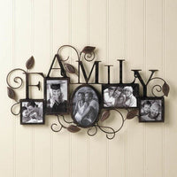 5 Photo Family Wall Frame