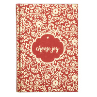 Metallic Message Journal - Choose Joy - Matr Boomie (J)