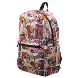 Marvel Squirrel Girl Superhero Sublimated Print Backpack