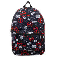 Marvel Deadpool Sublimated Print Backpack
