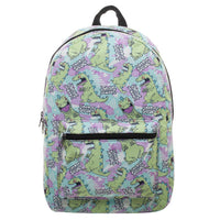 Rugrats Reptar Sublimated Print Backpack
