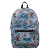 Scooby Doo Mystery Sublimated Print Backpack
