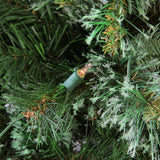 "4.5' x 37"" Pre-Lit Cashmere Mixed Pine Full Artificial Christmas Tree - Clear Dura Lights"