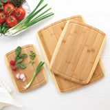 Bamboo Cutting Board Trio