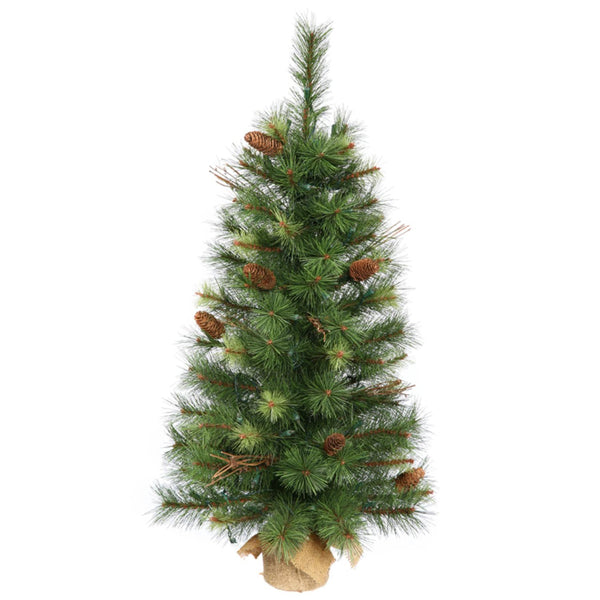 2.5' Caribou Mix Pine Artificial Christmas Tree - Unlit