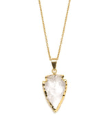 Abbakka Arrowhead Necklace – Crystal