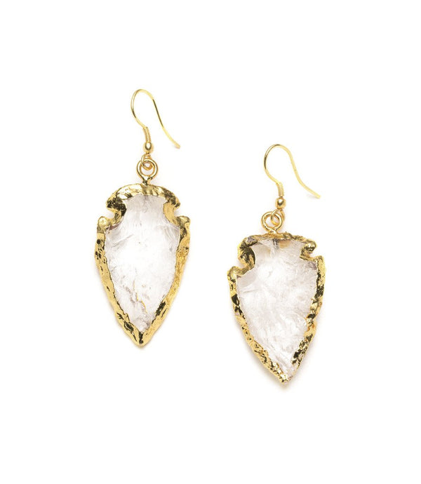 Abbakka Arrowhead Earrings – Crystal
