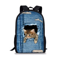 Adorable Animal Print Backpack, Great for Kids, 24 Designs - JT Home & Away