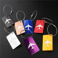 Aluminum Air Plane Pattern Bag Tag Multipack - JT Home & Away