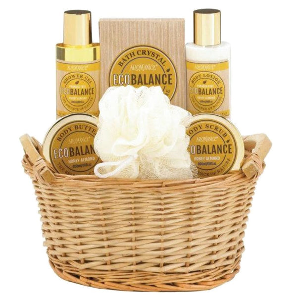 Aromanice EcoBalance Honey Almond Spa Gift Set - JT Home & Away