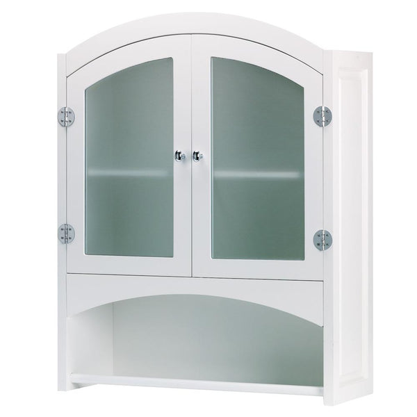 Arched Bathroom Wall Cabinet