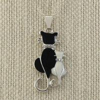 Cat & Kitten Necklace