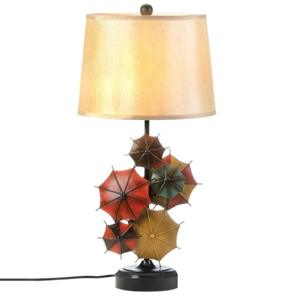 Charming Umbrella Table Lamp - JT Home & Away