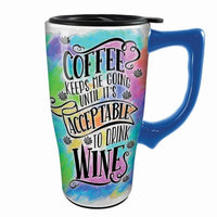 Coffee And Wine Travel Mug