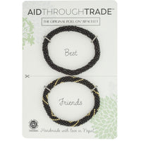 Roll-On Friendship Bracelets - Concrete Jungle - Aid Through Trade