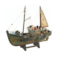 Fishing Boat Decorative Model