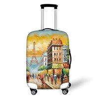 "Graphic Elastic Luggage Protective Cover for 18-30"" Suitcases - JT Home & Away"