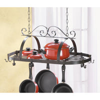 Wrought Iron Hanging Pot Holder