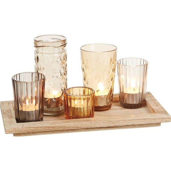 Harvest Candle Holders Set