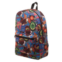 Ready Player One OASIS Patches Sublimated Print Backpack