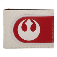 Star Wars Episode 8 Bi-Fold Wallet in White