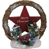 Light Up Christmas Bird Decoration