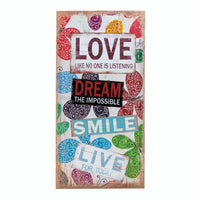 Love Bumper Sticker Wall Art