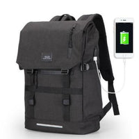 Mark Ryden Usb Charging Backpack 15.6 Inch Black