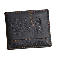 Men's Leather Bifold Wallet, French design - JT Home & Away