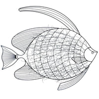 Metal Fish Wall Decor - JT Home & Away