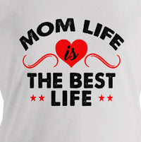 """Mom Life"" Women's Everyday T-shirt"