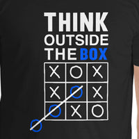 """Outside the Box"" Pre-Shrunk Cotton Comfort T-Shirt"