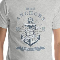 Vintage Anchors Nautical Perfect Fit T-Shirt