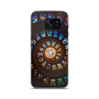 Stained Glass Spiral Samsung Case