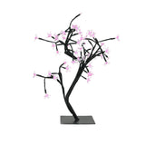 "18"" LED Lighted Japanese Sakura Blossom Flower Tree - Pink Lights"