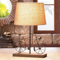 Old Fashioned Bicycle Table Lamp