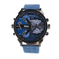 Oulm Men's Dual Time Display Watch - JT Home & Away